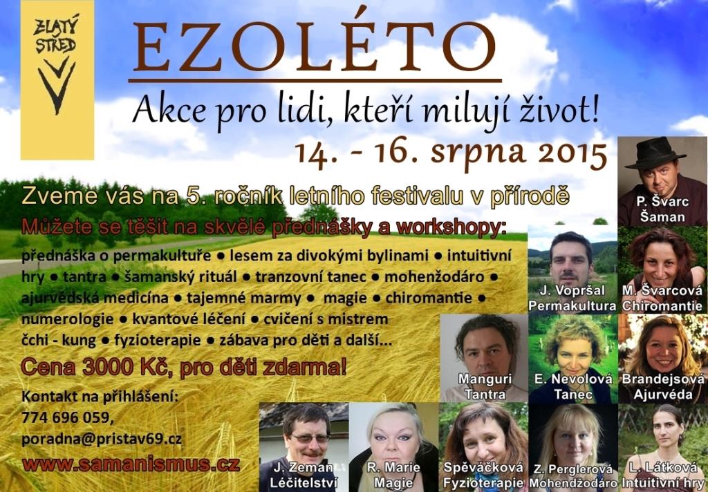Ezoterické léto 2015